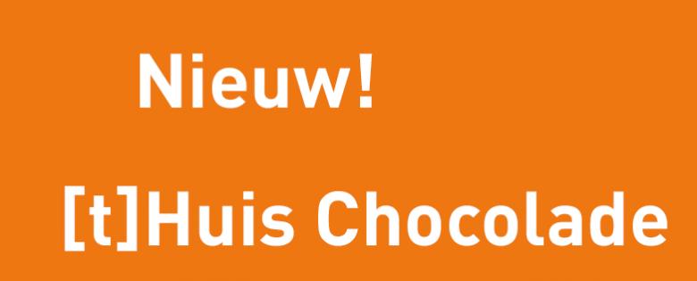 Nieuw dit jaar: de [t]Huis Chocolade. Een mooie rieten mand gevuld met 1 kilo Belgische bonbons van hoogwaardige kwaliteit.